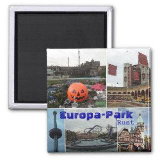 EropaPark, Europa-Park, Rust Square Magnet