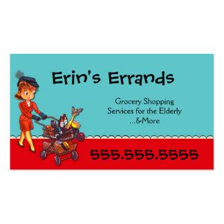 Errand Services Business Card
