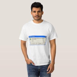 Error T-shirt memory