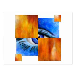 Ersebiossa V1 - hidden eye without back Postcard