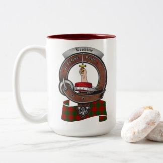 Erskine Clan Badge Two Tone 15oz Mug