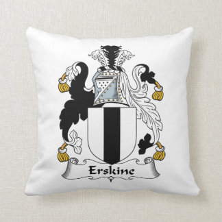 Erskine Family Crest Cushion