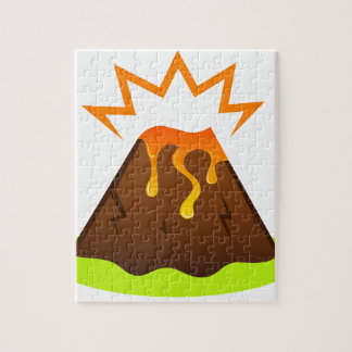 Eruption lava Kids room design Jigsaw Puzzle