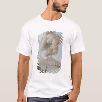 Eruption of Vesuvius, Monday 9th August 1779, plat T-Shirt