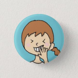 erusu 3 cm round badge