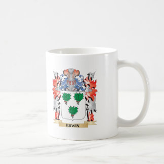 Erwin Coat of Arms - Family Crest Coffee Mug