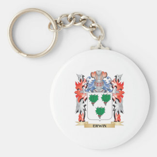 Erwin Coat of Arms - Family Crest Key Ring