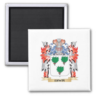 Erwin Coat of Arms - Family Crest Magnet