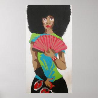 Erykah Badu: Lady Soul Poster