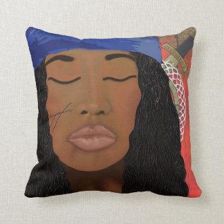 Erzulie Dantor Voodoo Art Pillow
