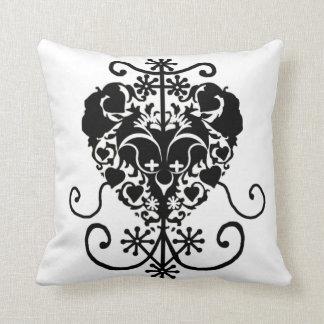 """Erzulie Freda Polyester Throw Pillow, 16"""" x 16"""" Cushion"""