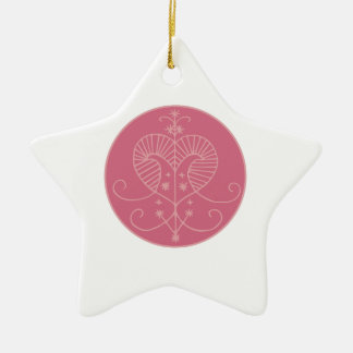 Erzulie Veve Ceramic Star Decoration