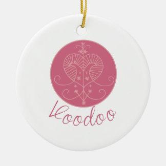 Erzulie Veve Voodoo Round Ceramic Decoration