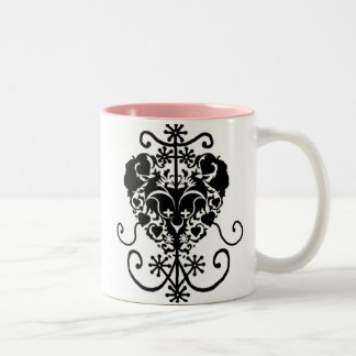 Erzulie, Voodoo Love Goddess Two-Tone Coffee Mug