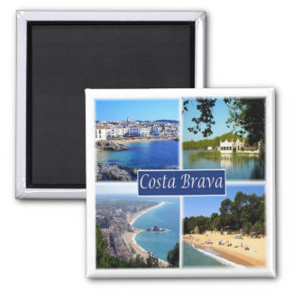 ES * Spain - Costa Brava Magnet