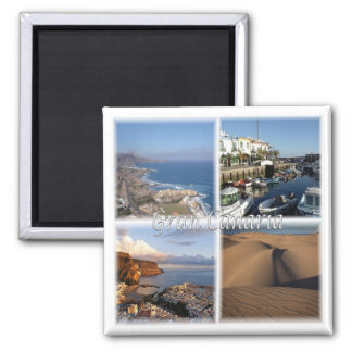 ES * Spain - Gran Canaria - Canary Islands Magnet