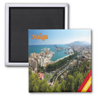 ES - Spain - Malaga Panorama Magnet