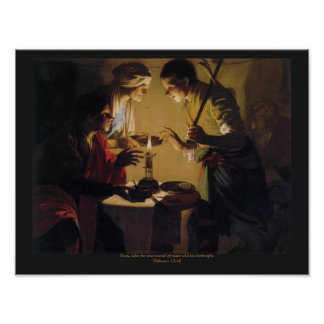 Esau Selling His Birthright  Hendrick Brugghen Poster