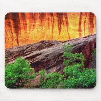 Escalante Neon Canyon and Foliage | Utah Mouse Pad