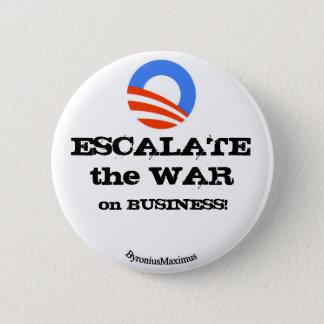 ESCALATE the WAR... 6 Cm Round Badge