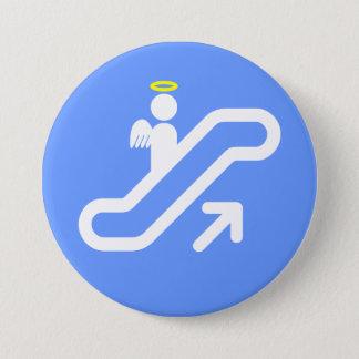 Escalator to Heaven! 7.5 Cm Round Badge