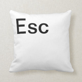 Escape Computer Key Cushion
