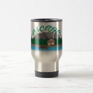 Escape for travel mug by Syahikmah