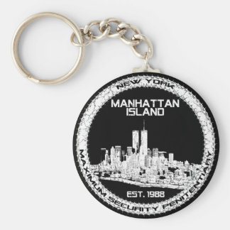 Escape From New York Key Ring