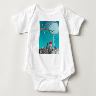 escape from the city baby bodysuit