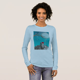 Escape from the city long sleeve T-Shirt