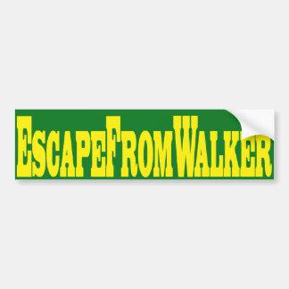 Escape From Walker Bumper Sticker