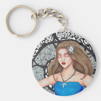 Escape Illustration keychain