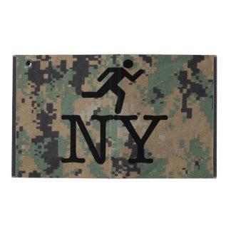 Escape New York Woodland Camouflage iPad Case