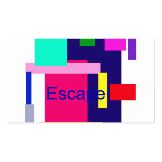 Escape Pack Of Standard Business Cards