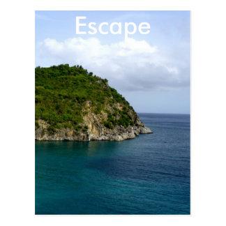 Escape Postcard