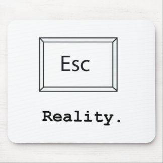 escape reality mouse pad