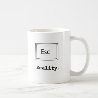escape reality mug