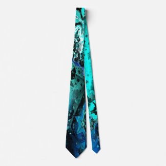 Escape the Hive (aqua) Tie