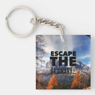 ESCAPE THE ORDINARY KEY RING
