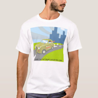 Escape the rat race while you can T-Shirt
