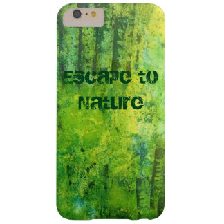 Escape to nature barely there iPhone 6 plus case