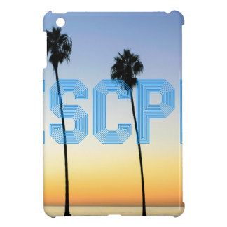 Escape to palm trees design cover for the iPad mini