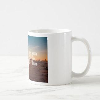 Escape to the beach design coffee mug