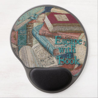 Escape With A Book Gel Mouse Pad