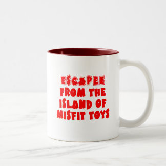 Escapee from the Island of Misfit Toys Mug