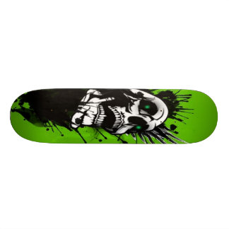 Escaping the darkness skate board deck