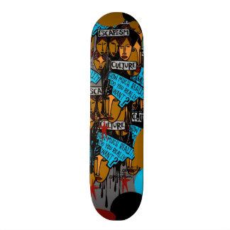ESCAPISM Skateboard by John Michael Gill