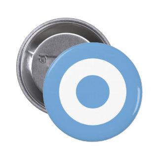 Escarapela Argentina - Roundel of Argentina 6 Cm Round Badge