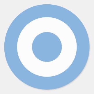 Escarapela Argentina - Roundel of Argentina Classic Round Sticker