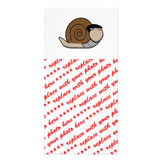 Escargot - French Snail Photo Greeting Card